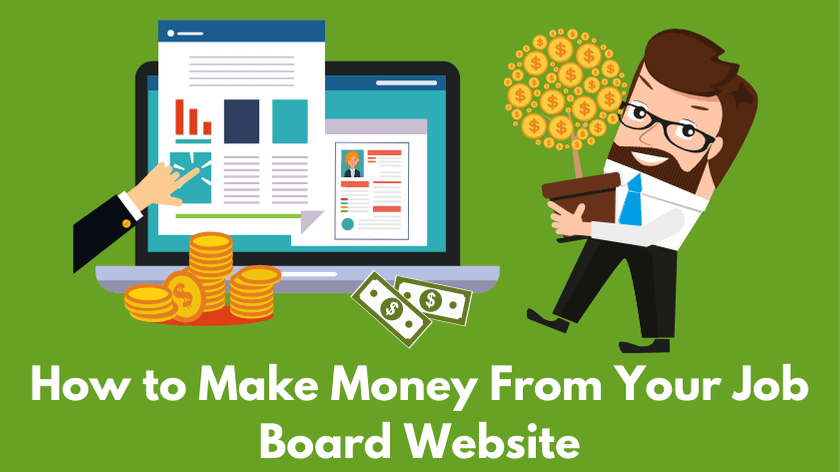 Monetize your job board website