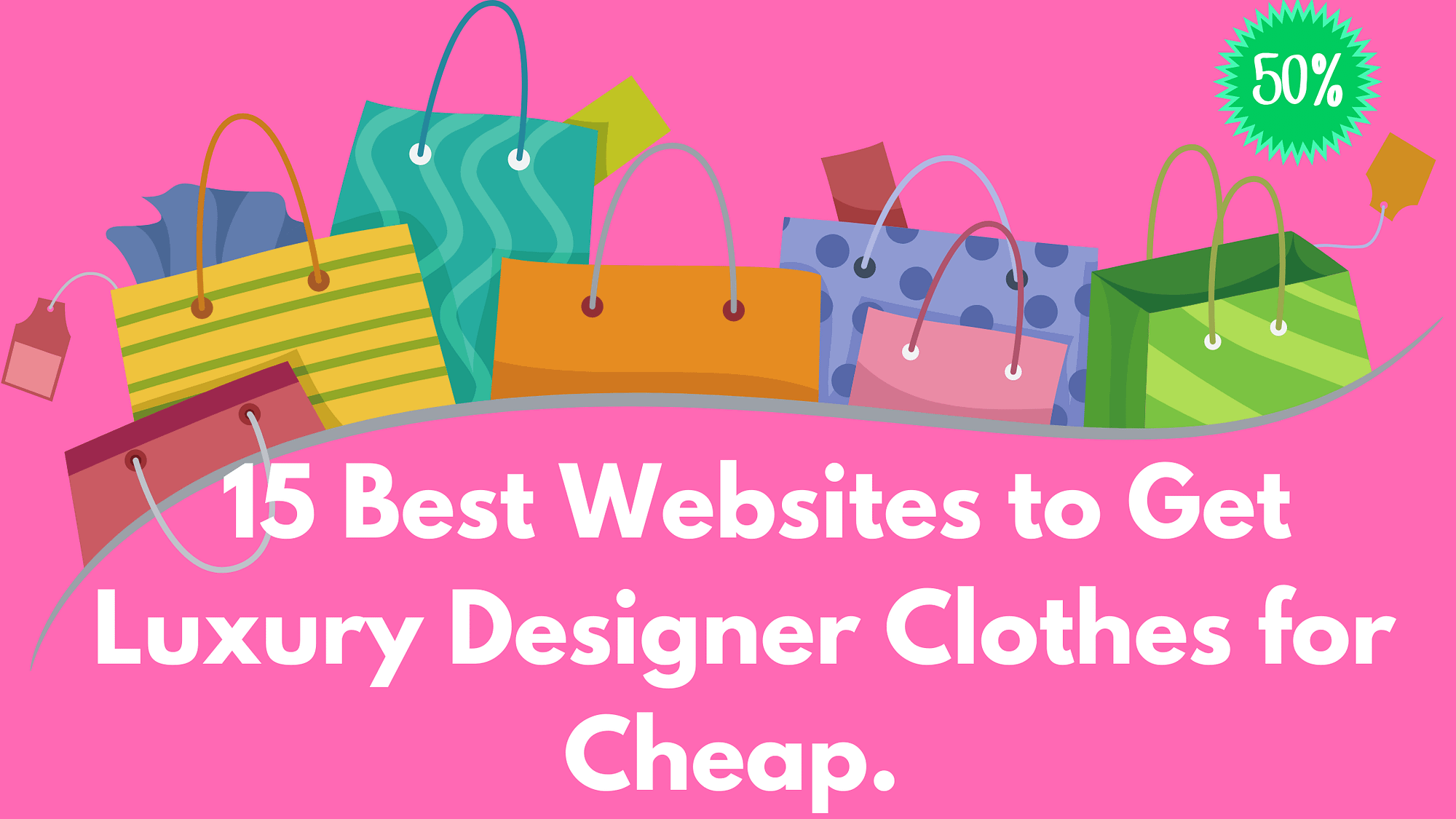 The 15 Best Websites to Get Luxury Designer Clothes for Cheap.