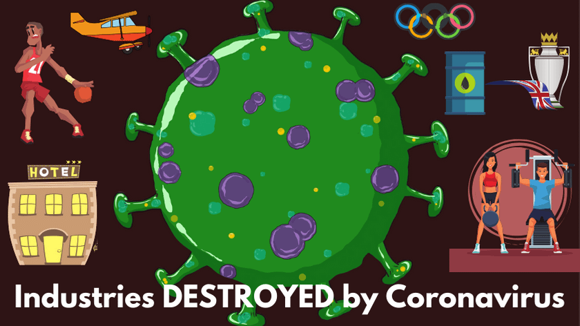 industries destroyed by coronavirus